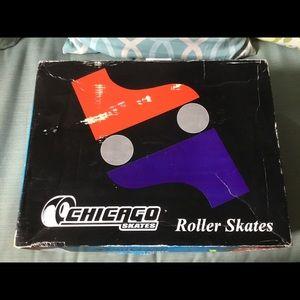 Ladies classic roller skates.